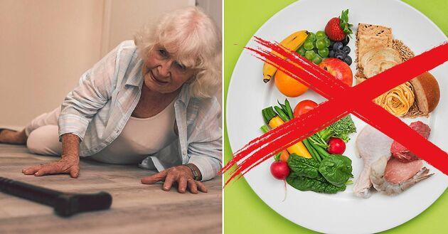 Glöm den gamla tallriksmodellen. Äldre bör satsa på protein, extra fett och mindre mängd kolhydrater som ger extra energi.