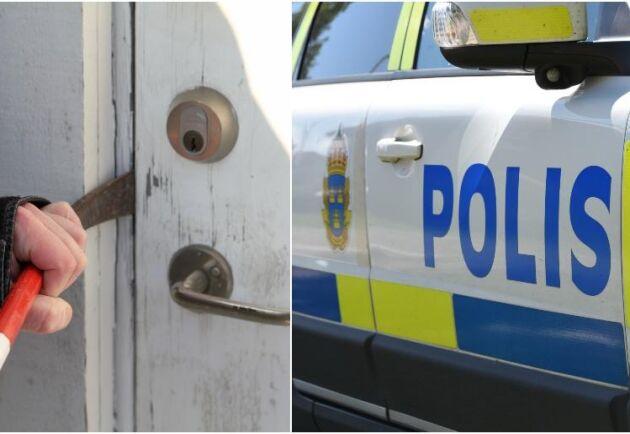 Antalet inbrott och stölder under sommaren ligger nu på 80, men polisen har inte resurser att åka på alla inbrott som anmälts.