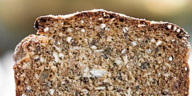 Grovt bröd utan jäst – baka snabbt och enkelt