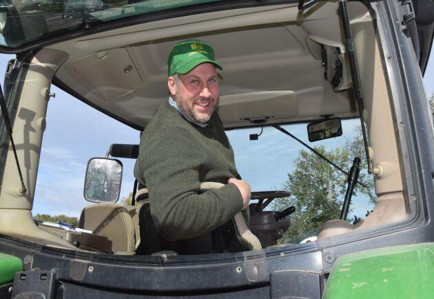 John Widegren (M) är kritisk till regeringens budget.