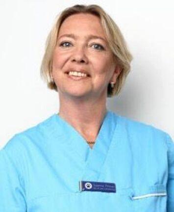 Susanne Åhman, dermatolog på VetaDerm Veterinärklinik i Lomma.