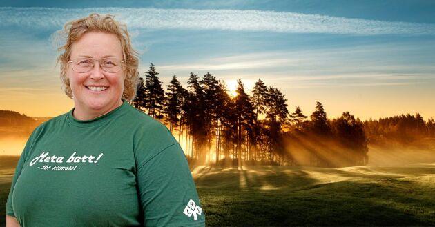 Jenny Karlsson är skogsägare och ordförande i LRF Norrbotten.