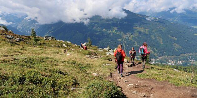 Följ med Land på vandringsresa till Bad Gastein