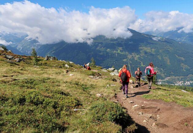 Följ med Land till Bad Gastein i Österrike och vandra i undersköna landskap som böljar över bergen.