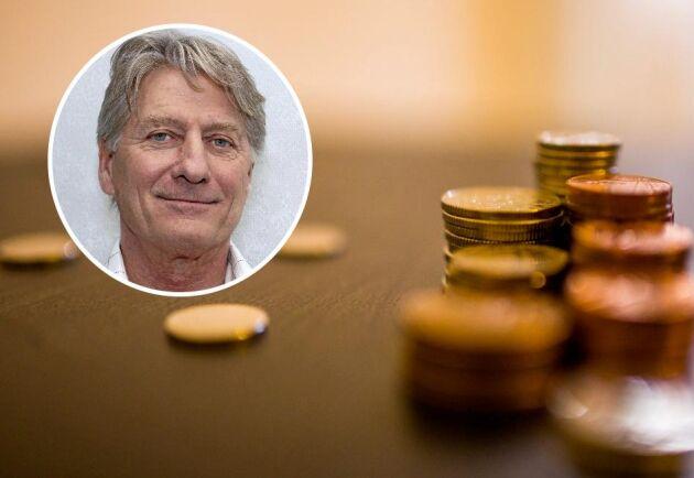 Erik Sjölander, näringspolitisk talesperson på Småföretagarnas riksförbund.