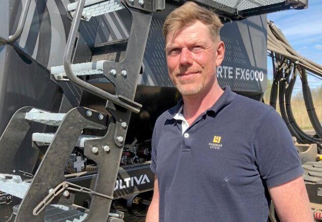 Detaljerna avgjorde när Filip Dalme med familj slog till på Sveriges första och enda Forte FX6000.