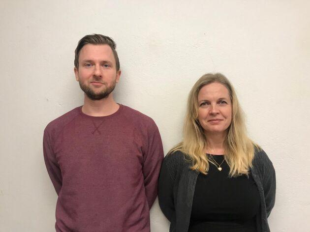 Andreas Sidkvist och Susanne Elfors startar en resebyrå som ska möjliggöra tågsemester.