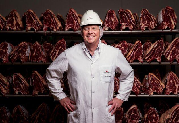 Finn Klostermann, VD på Danish Crown Beef.