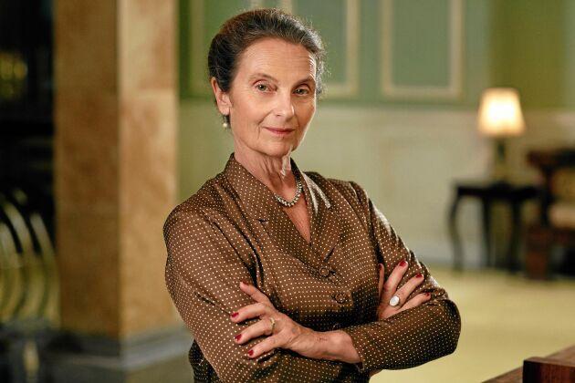 Matriarken Helga styr företag och familj med list. Foto: SVT