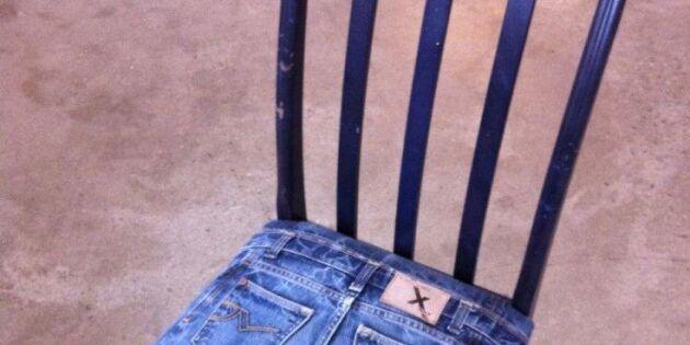 Sitt snyggt på jeans