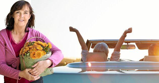 Det finns många fördelar med att bli äldre. Lands Kristina Bäckström listar sina 6 bästa.