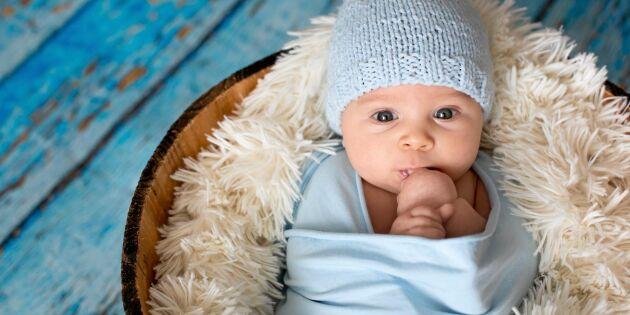 Här är de populäraste barnnamnen där du bor – hela listan!
