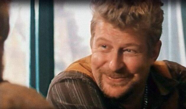 """Rolf Lassgård spelar en av huvudrollerna i Lars Molins lantbruksklassiker """"Potatishandlaren""""."""