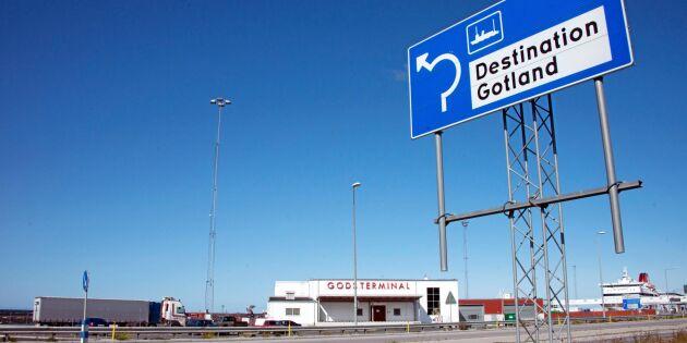 LRF Gotland kritiserar höjda färjepriser