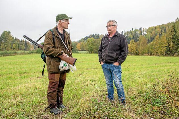 Jägaren Tomas Häggström säger att kronhjortar är svårjagade och det är inte ovanligt att de tilldelade djuren inte skjuts.