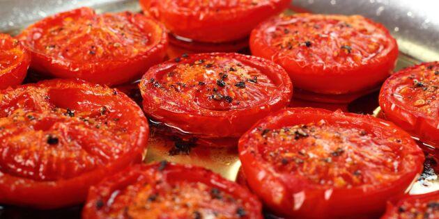 Så steker du tomater på bästa sätt