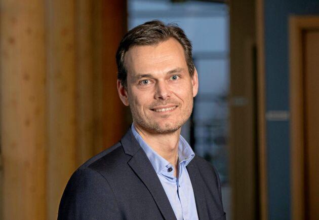Andreas Jonasson, marknadschef Södra Wood.