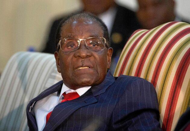 Zimbabwes tidigare president Robert Mugabe.