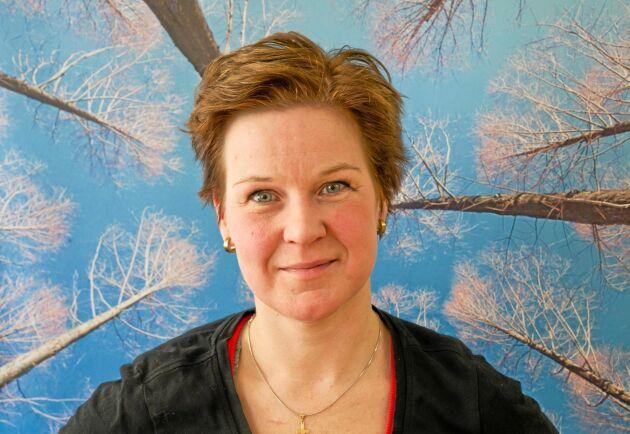 Ida Oderståhl, skogsentreprenör, skogsägare