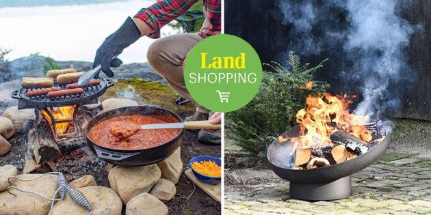 Laga mat över öppen eld – här hittar du hela vårt utbud