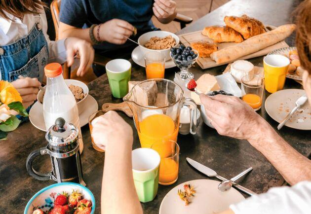 Senare frukost och tidigare kvällsmål. Gör det till en vana om du vill tappa kilon.