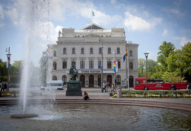 Stora Teatern i Göteborg.