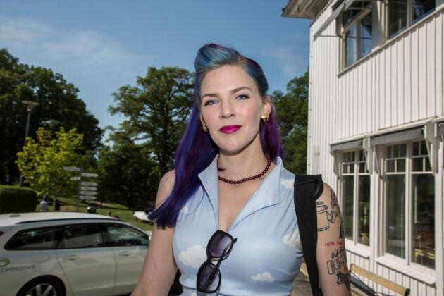 Emilia Astrenius Widerström, avgående ordförande för LRF Ungdomen.