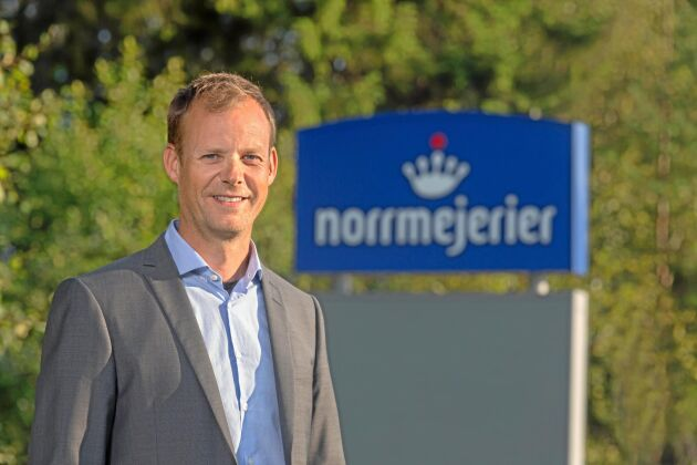 Anders Fredriksson, VD för Norrmejerier.