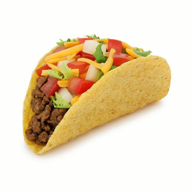 Svenskarna äter i dag mest tacos i Europa.