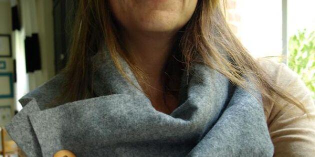 Snygg och lättgjord halsduk