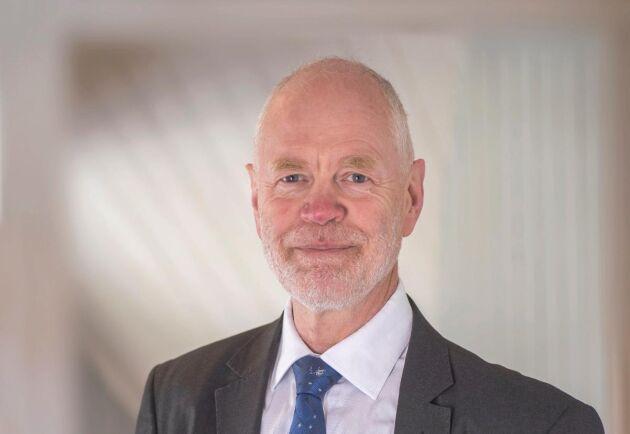 """""""Vi tror på att äga skog. Det är en knapp resurs och kommer vara en viktig tillgång framöver"""", säger Björn Lyngfelt, kommunikationsdirektör på SCA."""