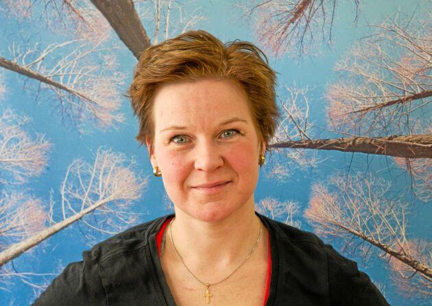 Ida Oderstål, skogsentreprenör och krönikör i Land Skogsbruk.