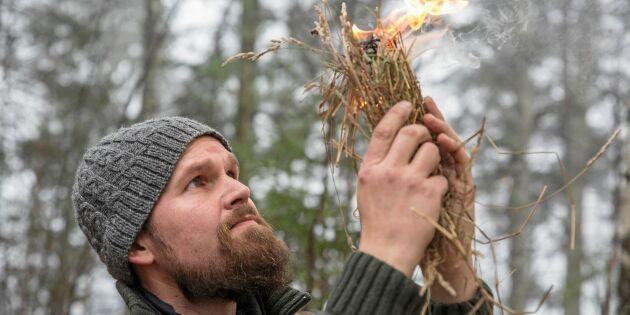"""Ökat intresse för bushcraft: """"Handlar om kunskaper som många tappat bort"""""""