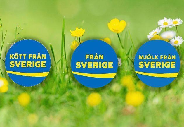 """""""Från Sverige""""-märkningen hjälper dig göra svenska val i mataffären."""