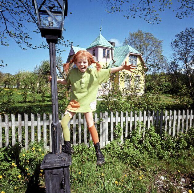 Pippi Långstrumps Villa Villerkulla ligger i dag vid Kneippbyn utanför Visby.