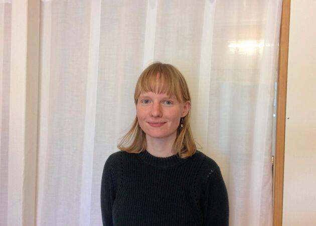 Doktoranden Mathilde Blanc vid SLU NJV kommer bland annat fördjupa sig i frågor som rör gårdarnas arbetskraft.