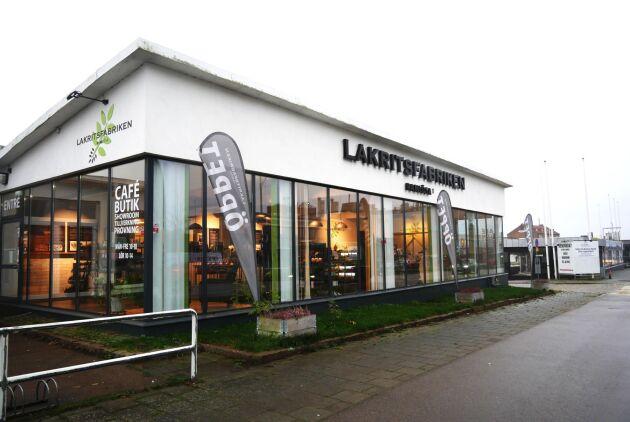 Lakritsfabriken i Ramlösa, Helsingborg. Ägare: Martin Jörgensen.