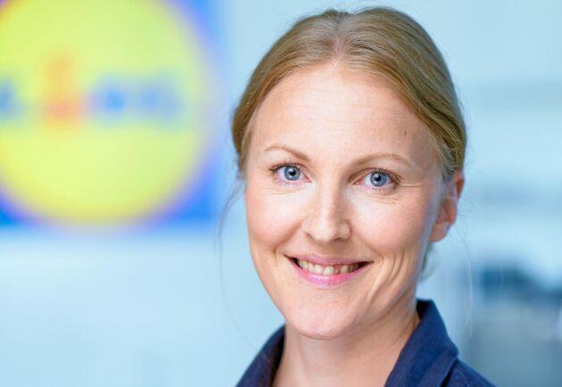 Miriam Thunborg, hållbarhetschef, Lidl Sverige.