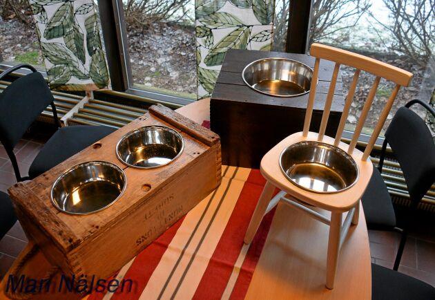 UF-företaget foodstation leker med design kring husdjurs matskålar.