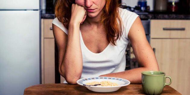 Här är maten som gör dig deprimerad