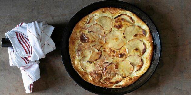 Äppelpannkaka i ugn – bästa höstdesserten utan krångel
