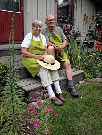 Denise och Jean Hellström i Östervåla.
