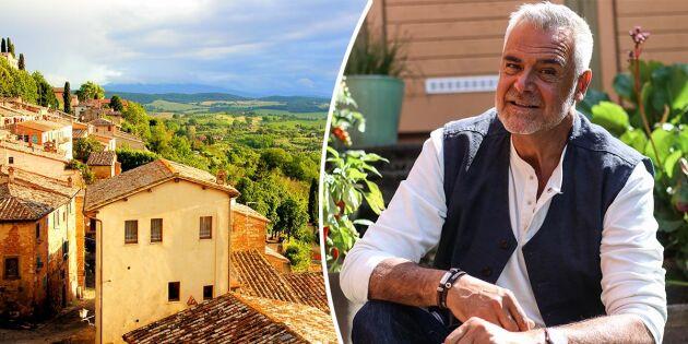 """Därför sålde Ernst sitt paradis i Toscana: """"Det förtog litegrann av glädjen"""""""