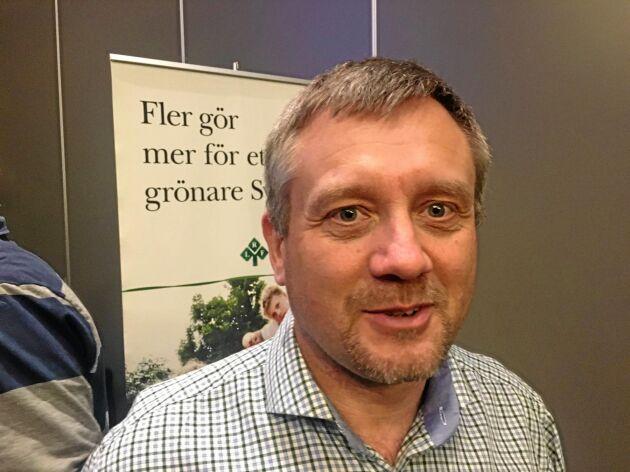 Magnus Karlsson är fröodlingsansvarig i Lantmännen.