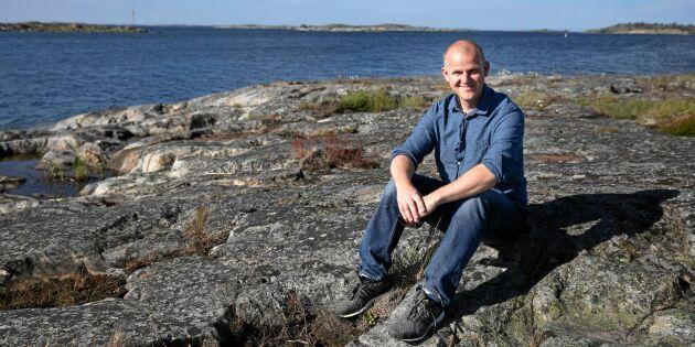 Johannes lämnade Stockholms innerstad för åländska ön Kökar – och blev egenföretagare