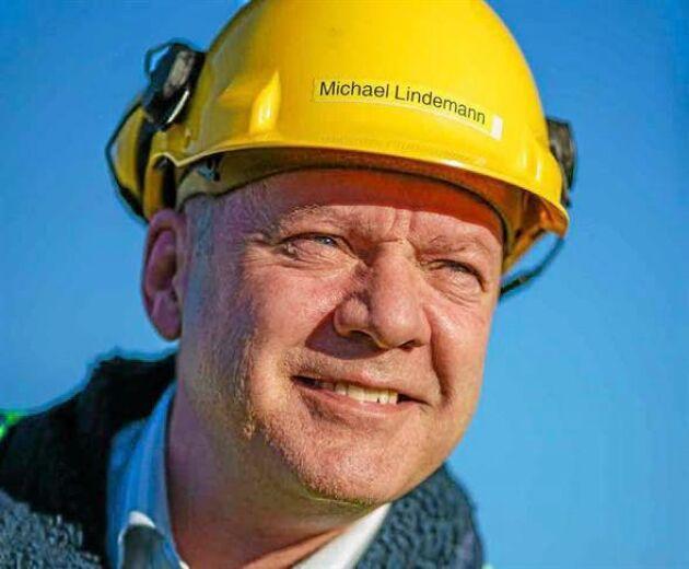 Stora Ensos platschef Michael Lindemann.