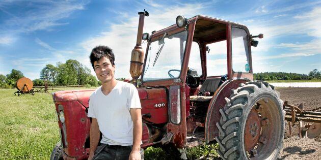 Blev bonde efter uppehållstillståndet