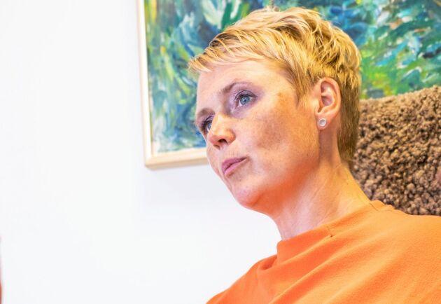 LRF:s vd Anna Karin Hatt.