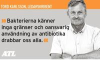 Antibiotikastopp fortsatt svensk paradgren