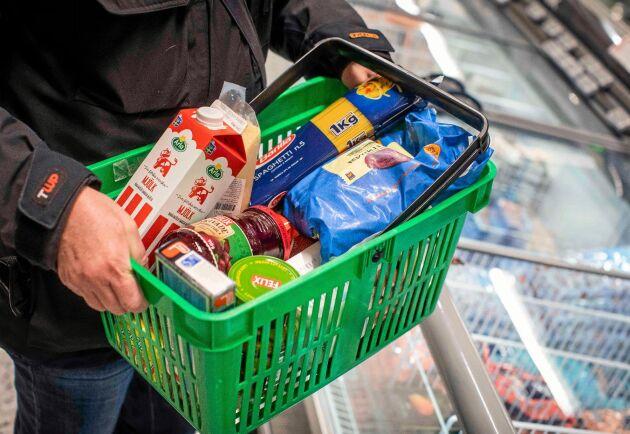 PRO:s årliga sammanställning visar på stora skillnader för matpriser.